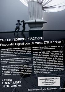 Afiche Taller FotoDigital - Nivel 1 Stgo